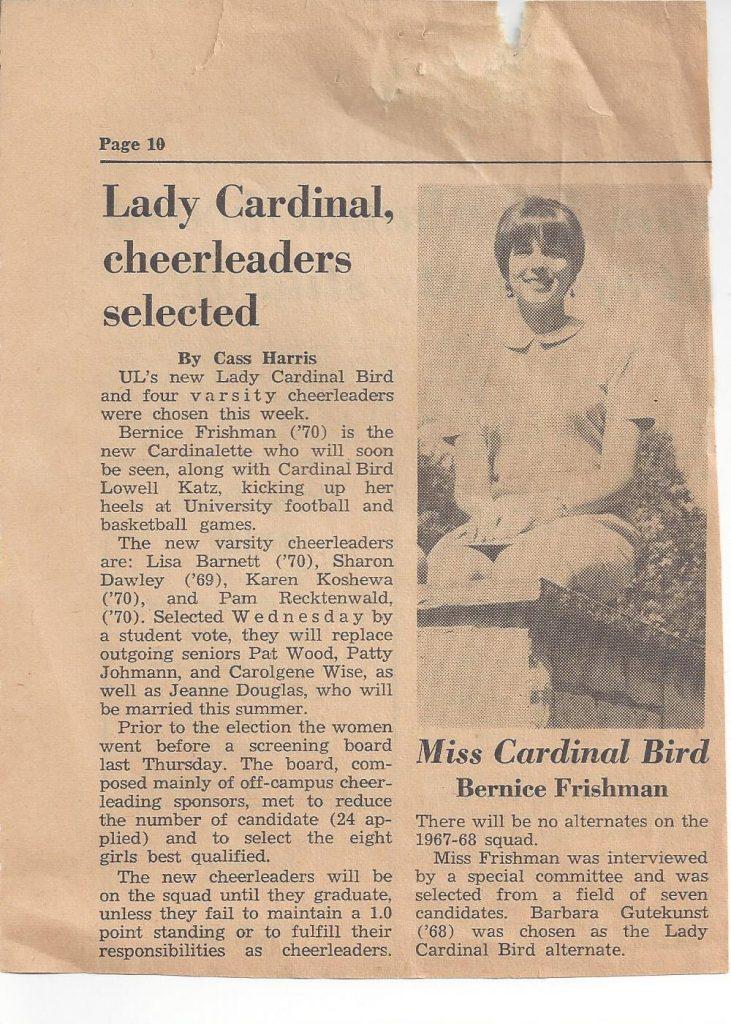 Cardinal Ladybird